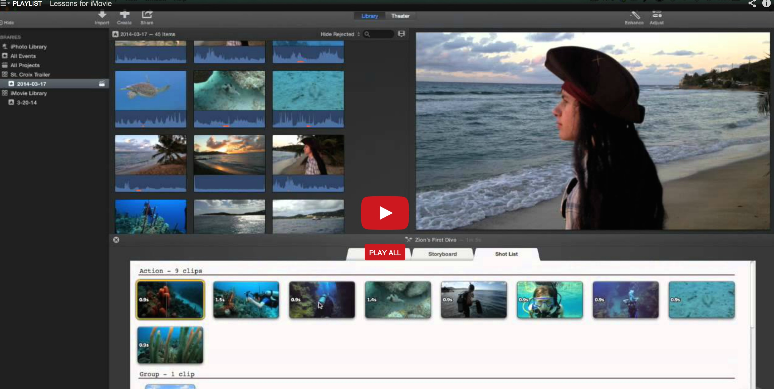 Ripple Training for iMovie is a Winner