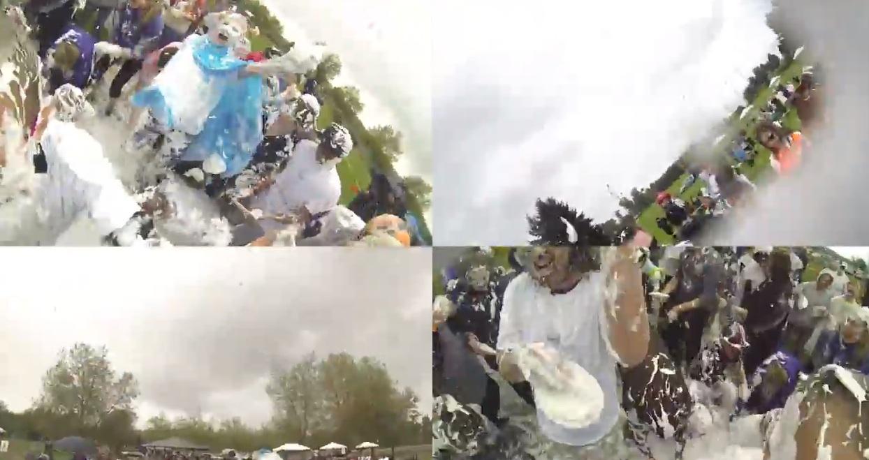 """Seattle Great Pie Fight"": a GoPro documentary"