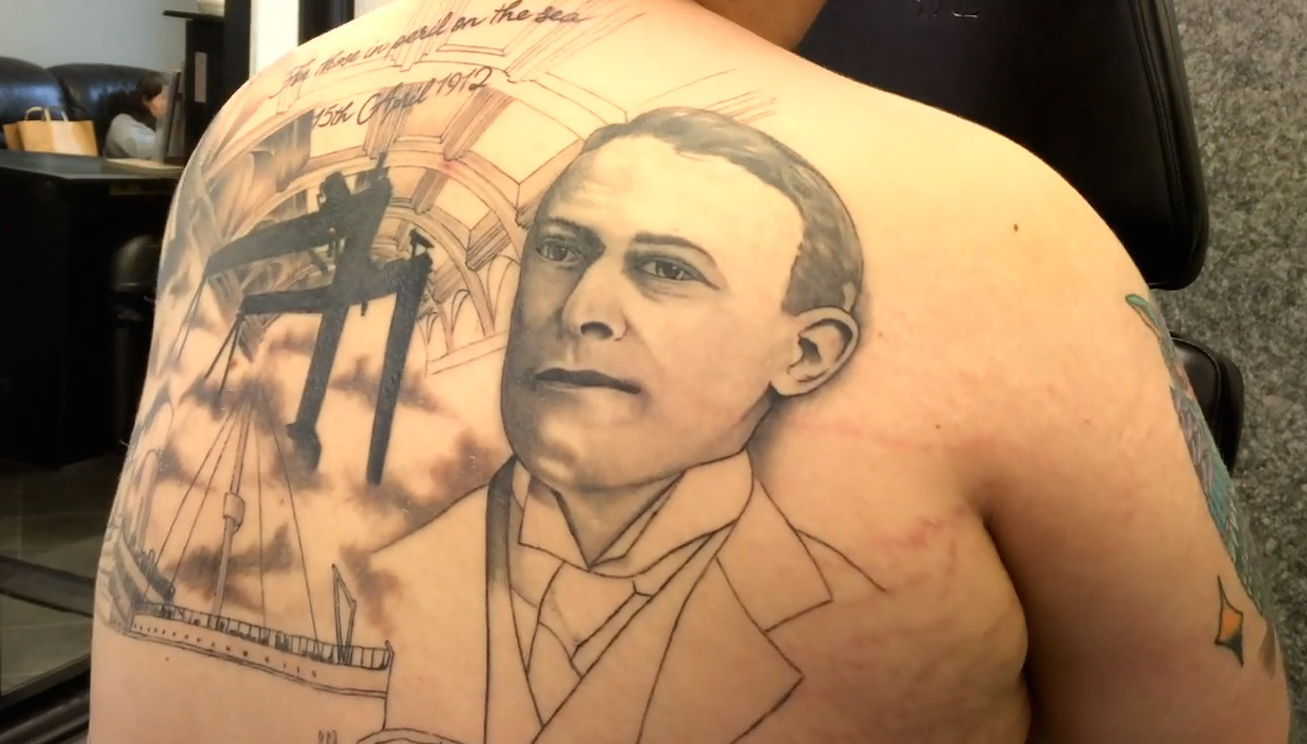 The Inking of the Titanic