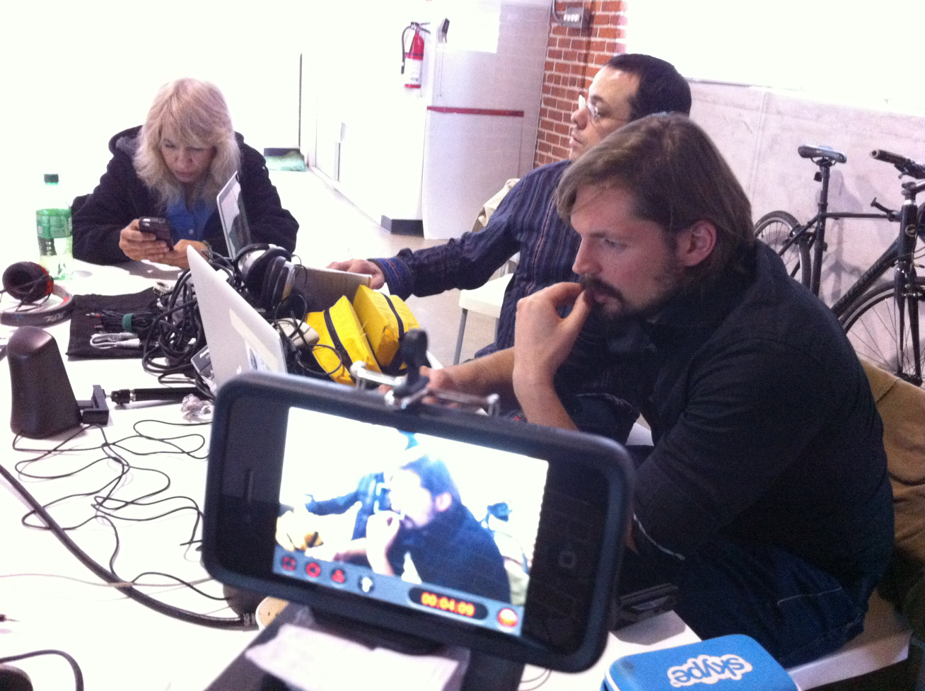 Launch of the Mobile Film School