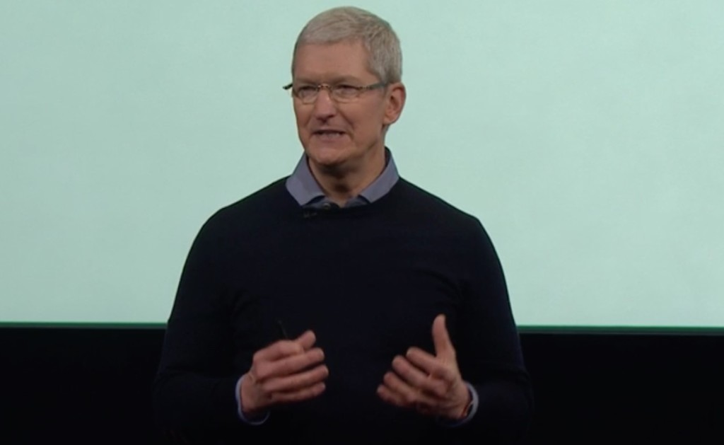 Tim Cook talks about digital privacy...and the new iPhone SE