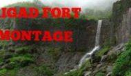 Raigad fort montage